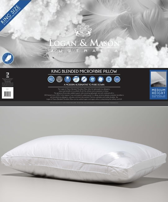 King Blended Microfibre Pillow