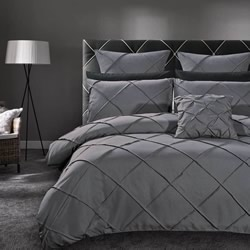Abel Grey Quilt Cover Set