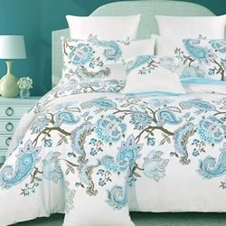 Bardi Paisley Stripe Quilt Cover Set