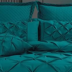 Fantine Teal European Pillowcase