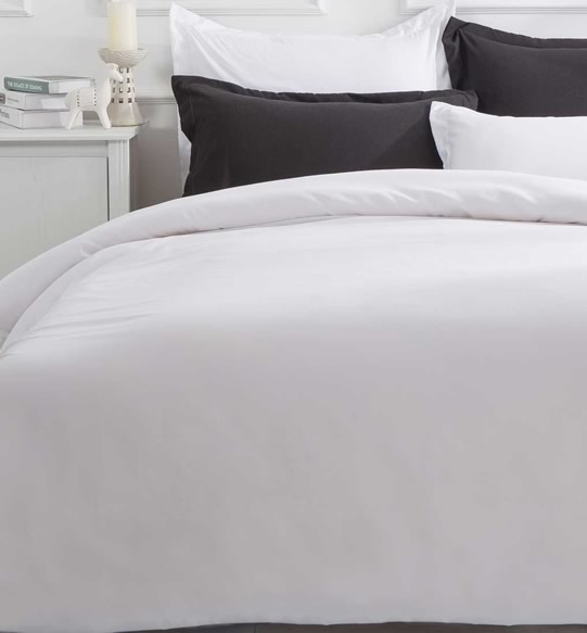 Pure Soft White Quilt Cover Set