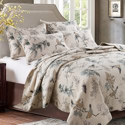 Abbey Bird Coverlet Set