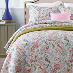 Botanical Garden Cotton Coverlet Set