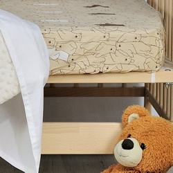 Barry Bear Cot Fitted Sheet