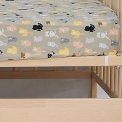 Hippity Hop Cot Fitted Sheet