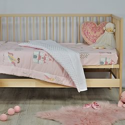 Enchanted Cotton Minky Cot Quilt