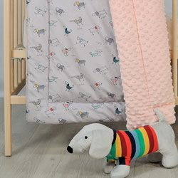 A Cosy Minky Cot Quilt My Dog