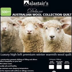 500gsm Australian Winter Wool Quilt