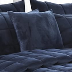 Augusta Mink Navy Cushion