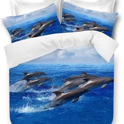 Dolphins Quilt Cover Set