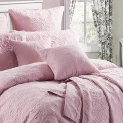 Marguerite Dusty Pink Euro Pillowcase
