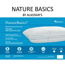 Nature Basics Deluxe Air Flow Pillows