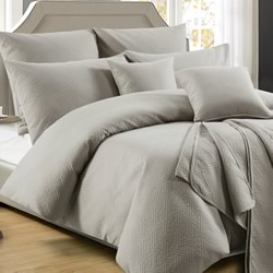 Zeus Latte Quilt Cover Set