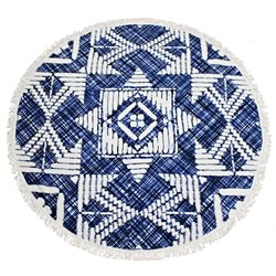 Apollo Round Beach Towel