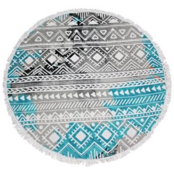 Indie Round Beach Towel