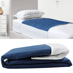 Bed Pad Waterproof Dark Denim