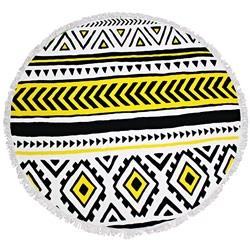 Native Round Beach Towel