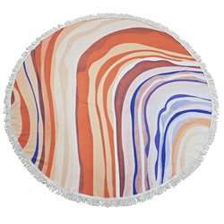 Opal Round Beach Towel
