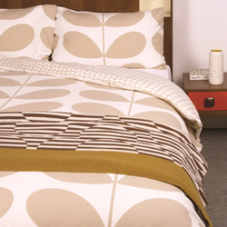 Flannel Giant Stem Clay Quilt Cover Set