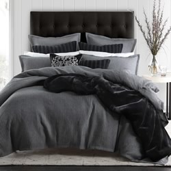 Angus Slate Quilt Cover Set