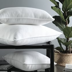 Cornell White European Pillowcase