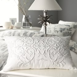 Hastings White Cushion