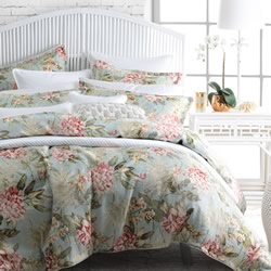 Leura Mist Quilt Cover Set