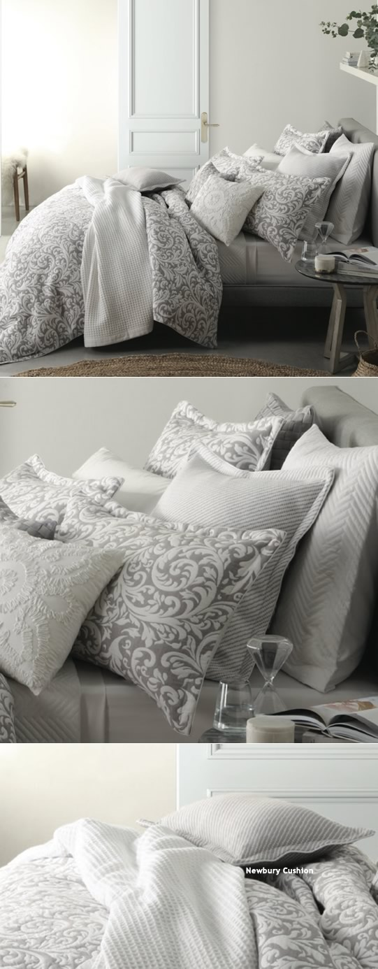 Newbury Silver Quilt Cover Set