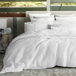 Tux White Quilt Cover Set