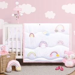 Rainbow Sprinkles 5 Piece Nursery Set