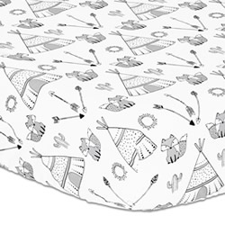 Southwest Dreams Cot Fitted Sheet