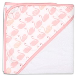 Sweet Swan Hooded Towel