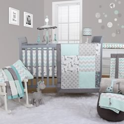 Uptown Giraffe 5 Piece Nursery Set
