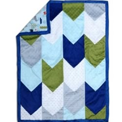 Woodland Dreams Patchwork Blanket