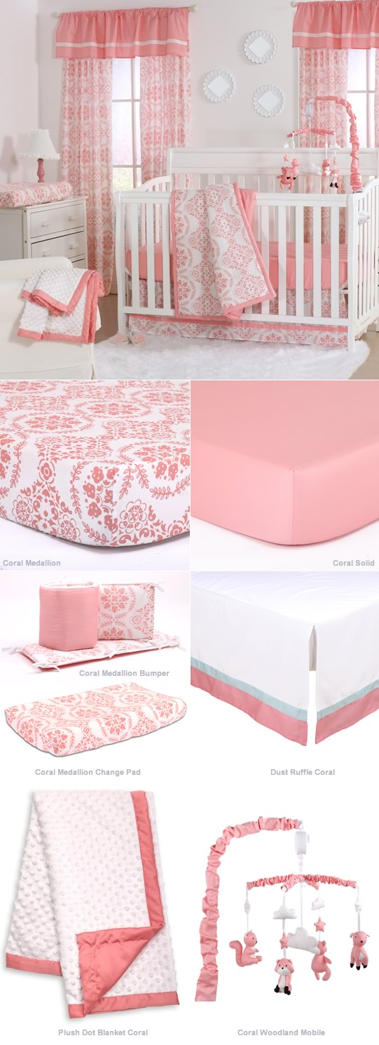 Coral Medallion By Peanut Shell Cottonbox