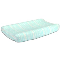 Mint Tribal Change Pad Cover