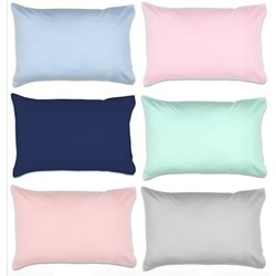 Cotton Sateen Cot Pillowcases