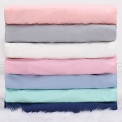 Cotton Sateen Cot Sheets
