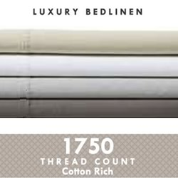 1750TC Poly Cotton Sheet Set