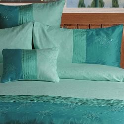 Bella Aqua Quilt Cover Set