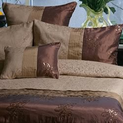 Bella Linen Quilt Cover Set