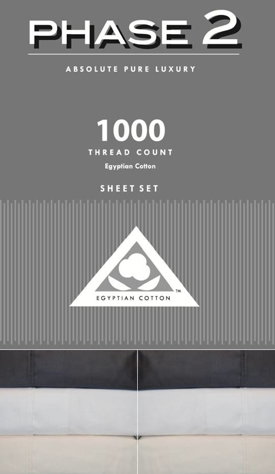 1000TC Egyptian Cotton Sheets