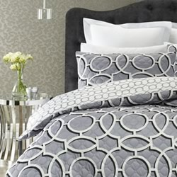 Marrakesh Grey Quilt Cover Set