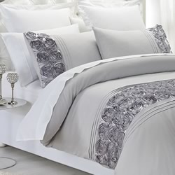 Palazzo Silver Quilt Cover Set
