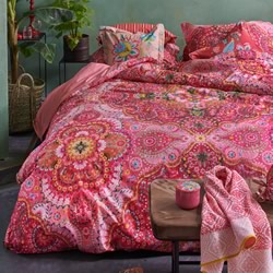 Sultans Red Quilt Cover Set