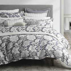 Bethany Navy Quilt Cover Set