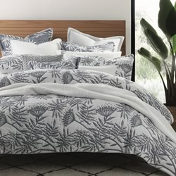 Boronia Denim Quilt Cover Set