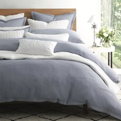 Dash Chambray Quilt Cover Set
