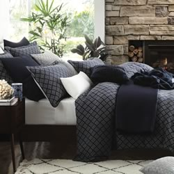 Norwood Navy Quilt Cover Set