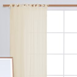 Voile Calico Curtain